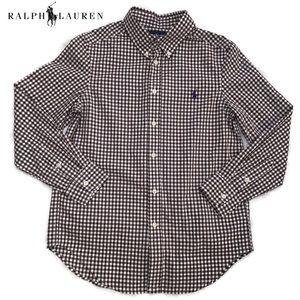 Polo Ralph Lauren's brown checkered button-down